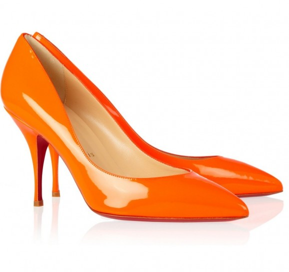 pumps arancioni