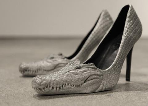 scarpe coccodrillo