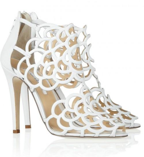 scarpe sposa 2013 oscar de la renta