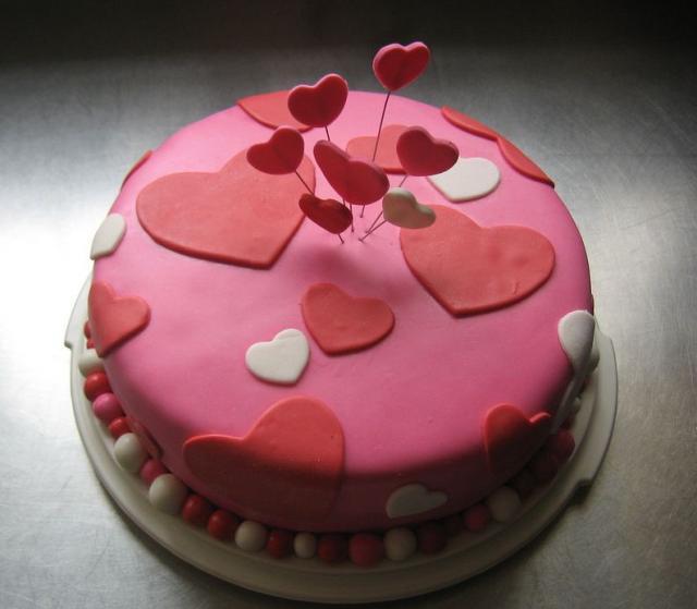 torta cuori san valentino