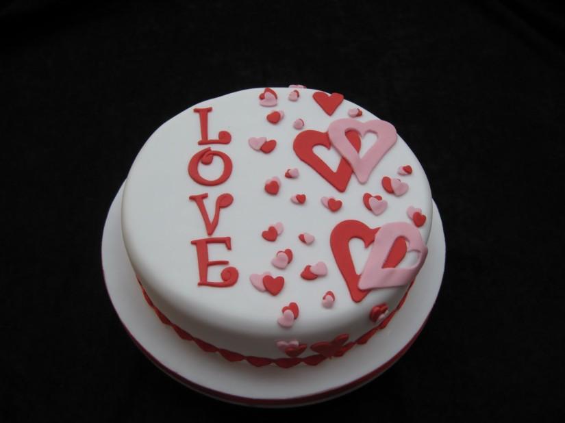 torta love san valentino 2