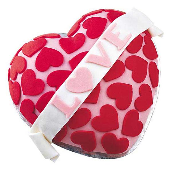 torta love san valentino