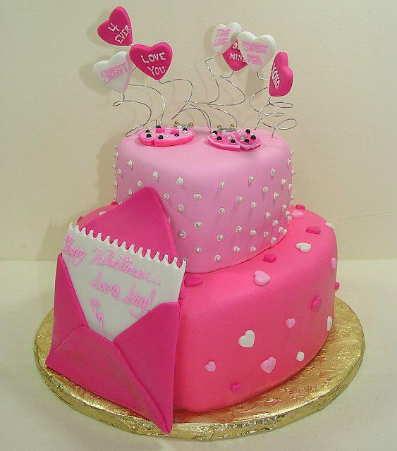 torta rosa san valentino