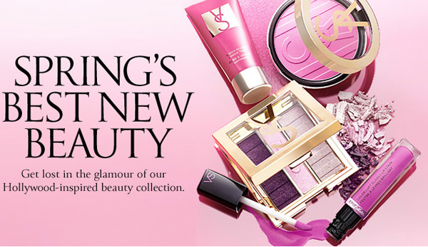 victoria's secret spring 2013 colleione make up