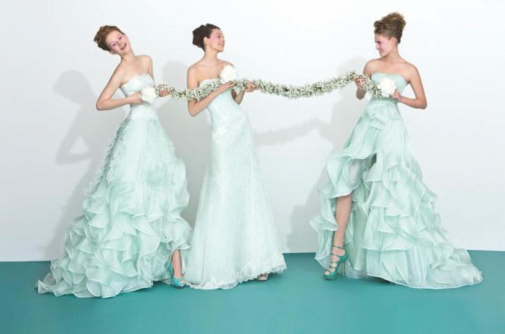 abiti da sposa verdini