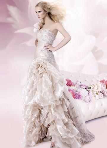 abito da sposa rosa 3