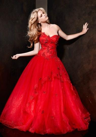 abito da sposa rosso 2