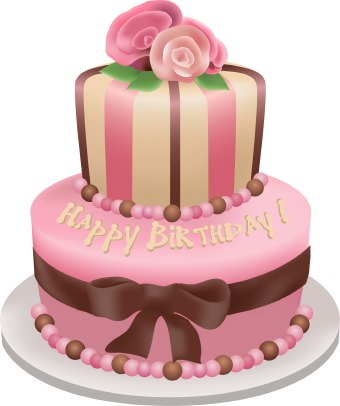birthday-cake-with-pink-roses