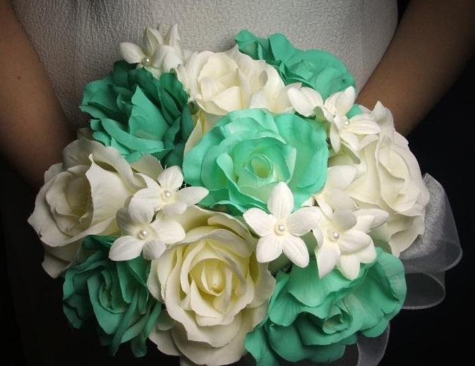 Bouquet Sposa Tiffany.La Sposa Romantica Tiffany Bouquet