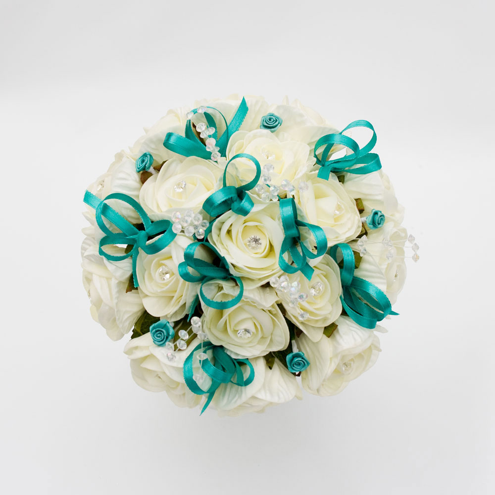 Bouquet Sposa Tiffany.La Sposa Romantica Tiffany Bouquet
