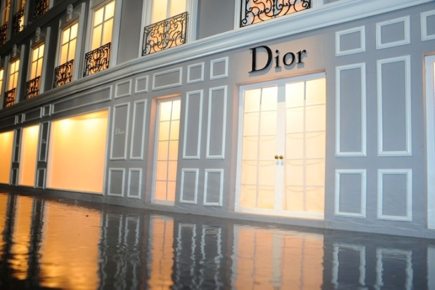 dior pop-up store harrods