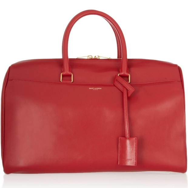 duffle-red ysl 2013