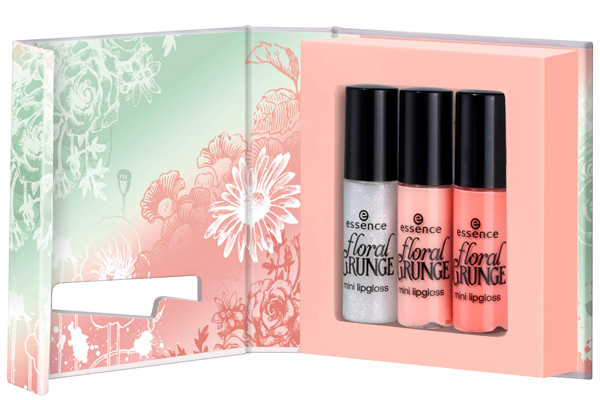 Essence Floral-Grunge Mini-Lipgloss estate 2013