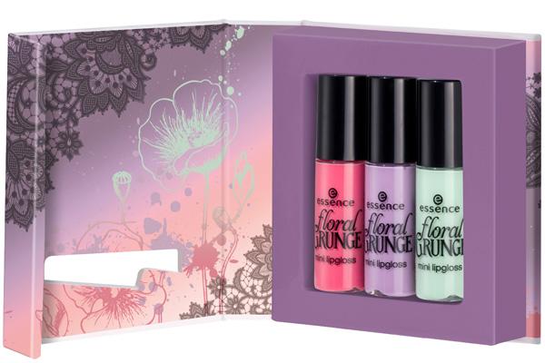 Essence Floral-Grunge-Mini-Lipgloss estate 2013