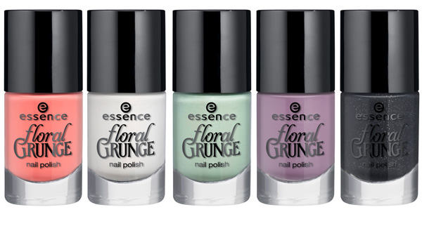 Essence -Floral-Grunge smalti 2013