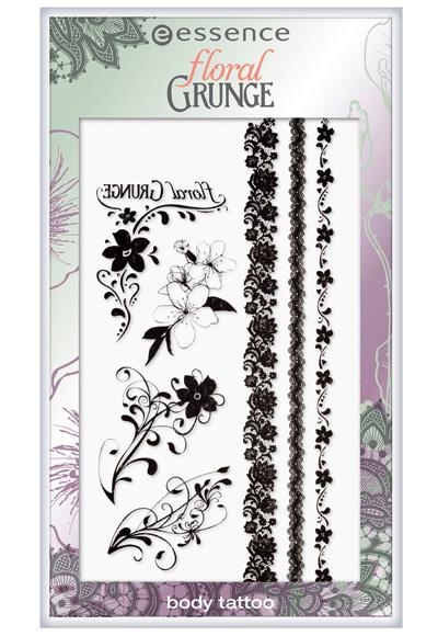 Essence-Summer-2013-Floral-Grunge-Body-Tattoo