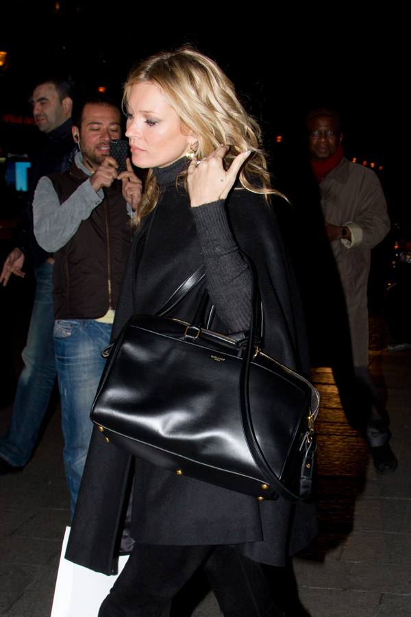 Kate Moss Sighthing In Paris - November 21, 2012
