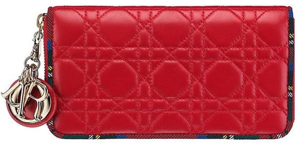 Lady-Dior-Zipped-Pouch-Red harrods 2013