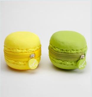 macarons coin purse