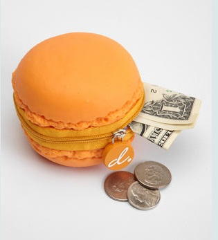 macarons coin purse
