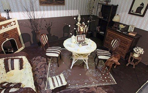 sala di cioccolato