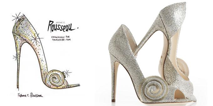 scarpa ispirata al grande e  potente oz