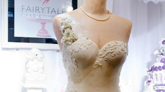 torta abito da sposa 2013