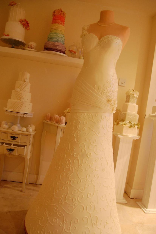 torta abito da sposa