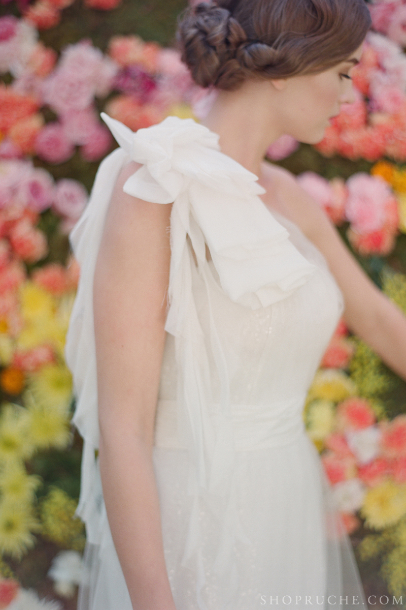 abito da sposa rouche primavera 2013 10