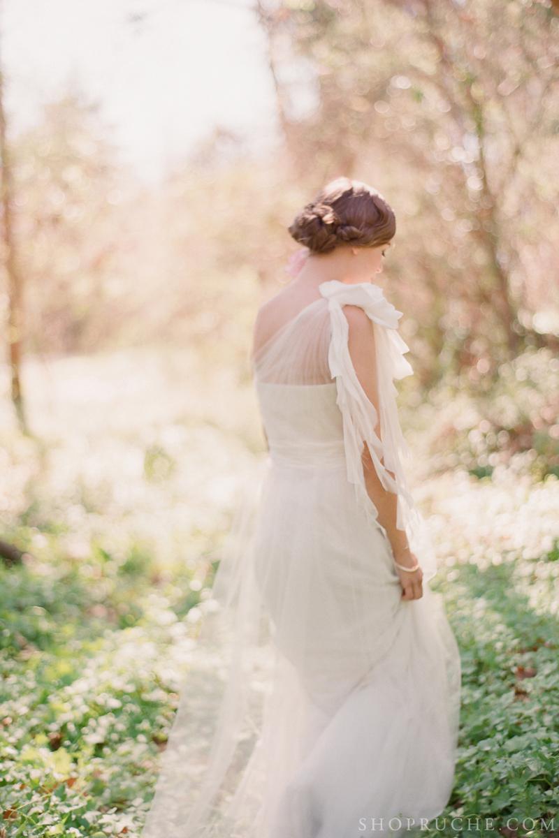 abito da sposa rouche primavera 2013 12