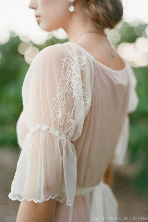 abito da sposa rouche primavera 2013 26