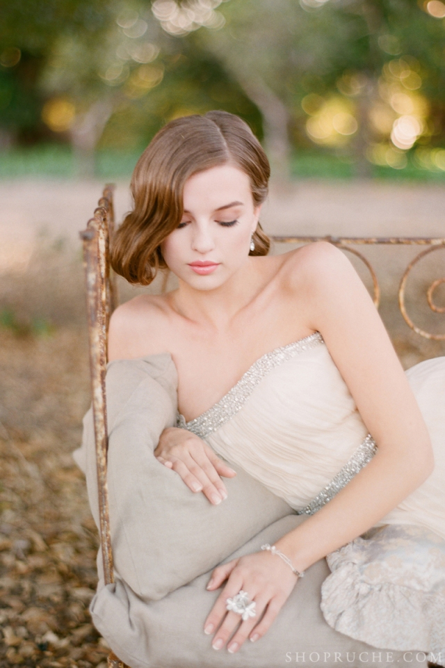 abito da sposa rouche primavera 2013 3