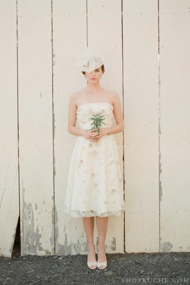 abito da sposa rouche primavera 2013 34
