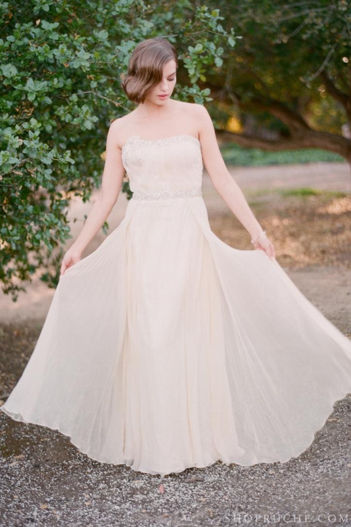 abito da sposa rouche primavera 2013 37