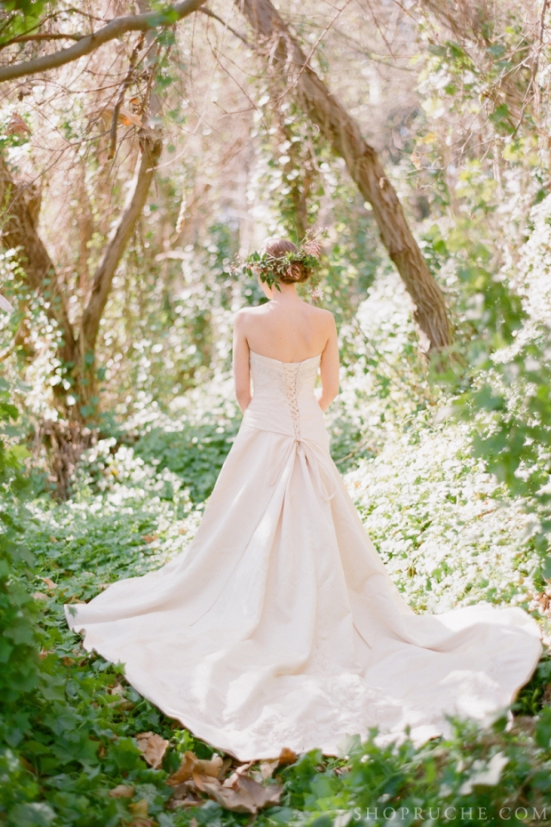 abito da sposa rouche primavera 2013 4