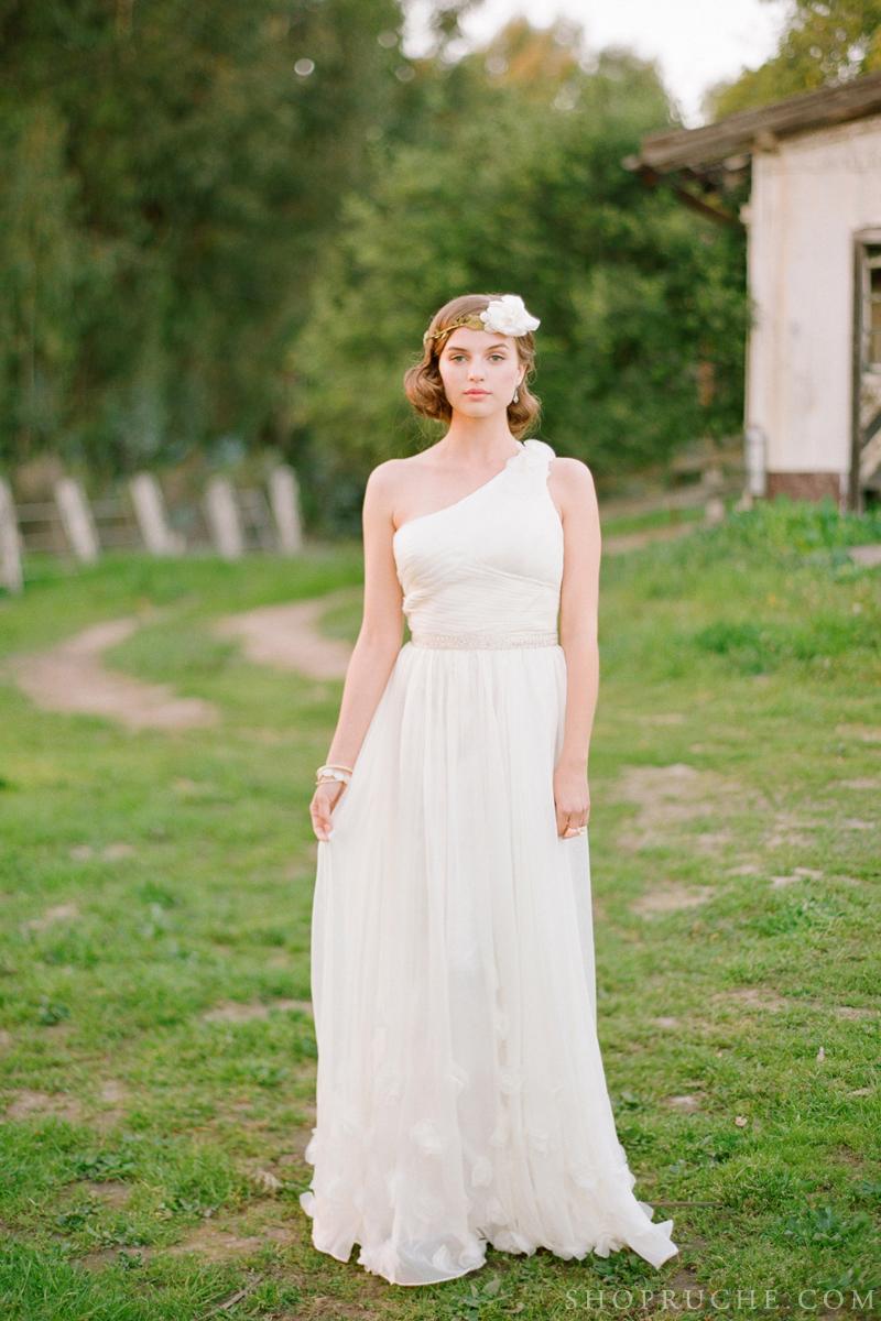 abito da sposa rouche primavera 2013 41
