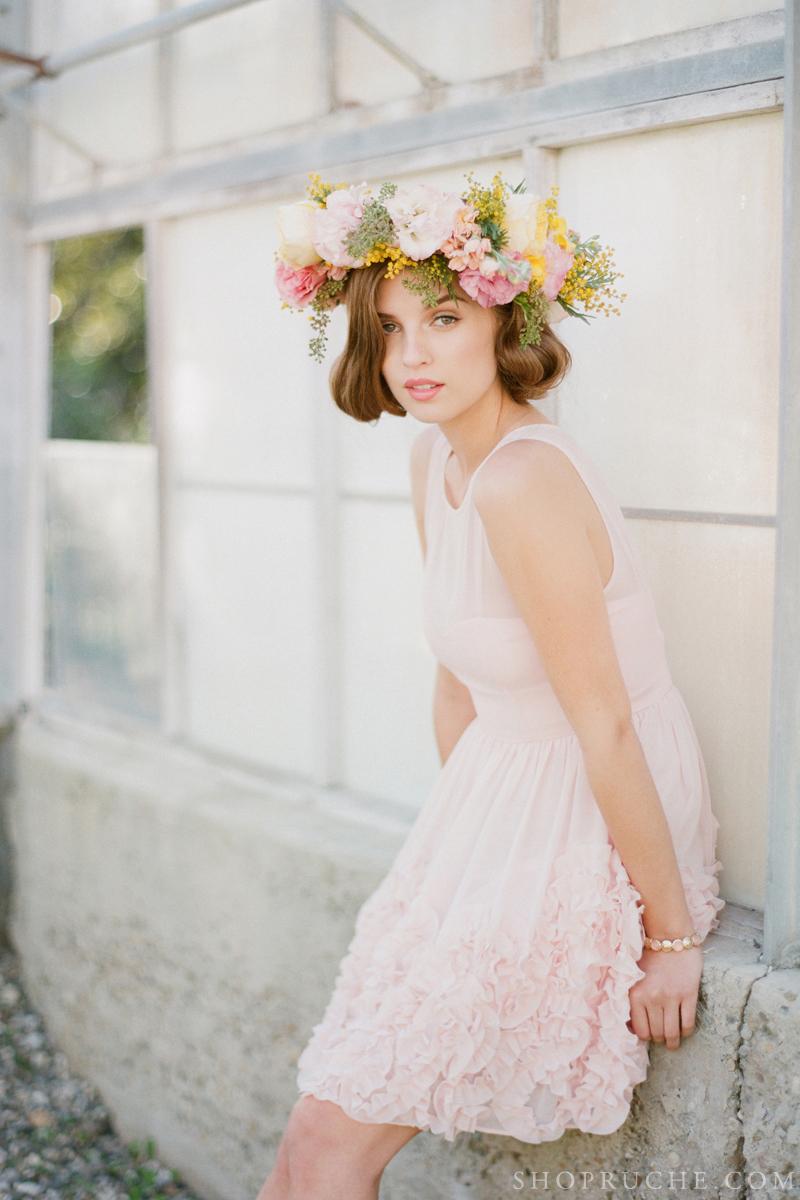 abito da sposa rouche primavera 2013 44