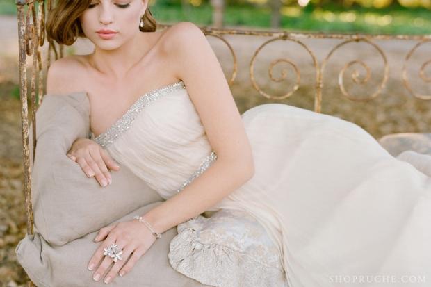 abito da sposa rouche primavera 2013 49