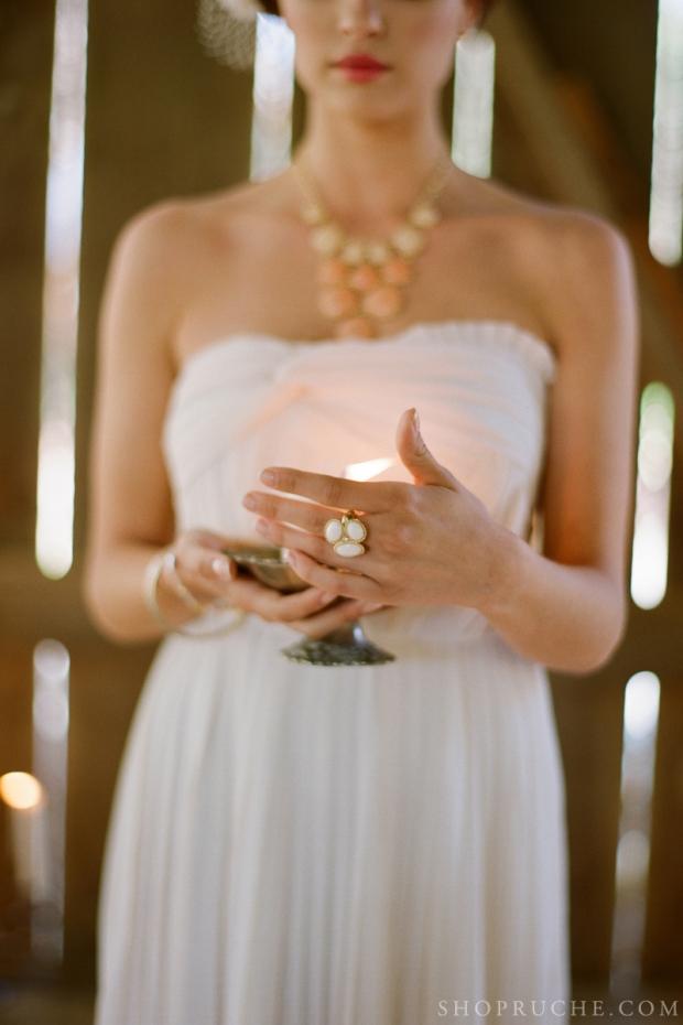 abito da sposa rouche primavera 2013 6