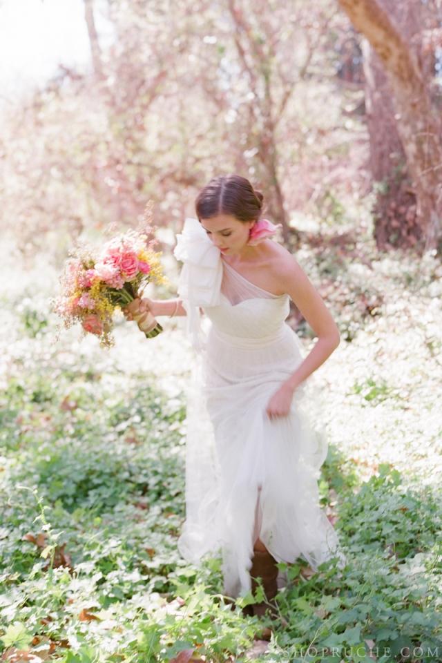 abito da sposa rouche primavera 2013 9