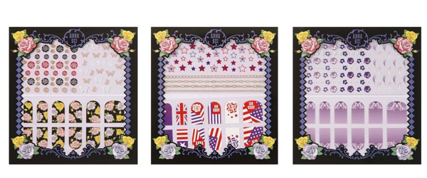 anna sui 2013 stickers unghie