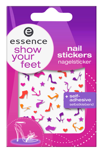 essence show your feet nail stickers