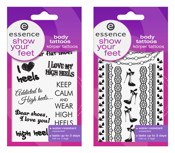 essence show your feet tattoos