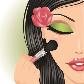 MAKE UP VECTOR 2