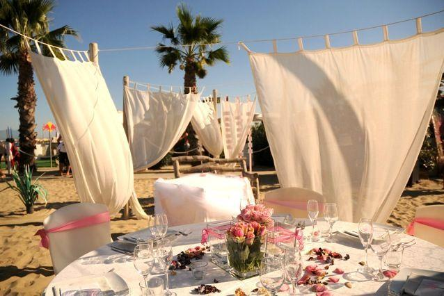 Matrimonio Spiaggia Ricevimento : Estremamente romantico …… fashioniamoci