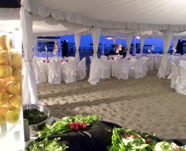ricevimento matrimonio in spiaggia 4