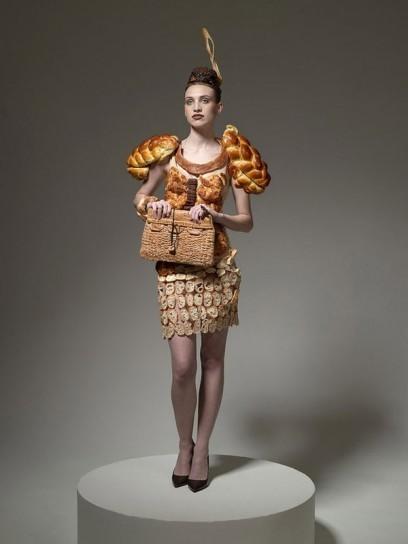 vestito di pane