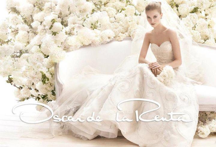 abiti da sposa 2014 oscar de la renta