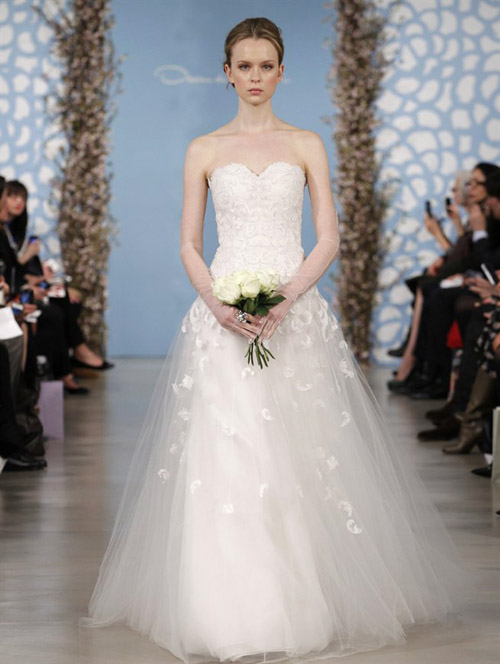 abito da sposa de la renta 2013