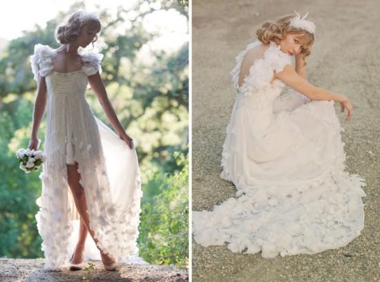abito da sposa shabby chic 10
